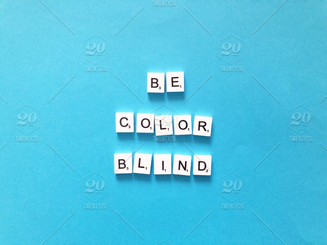 Be color blind  Scrabble  Scrabbles  Scrabble tiles
