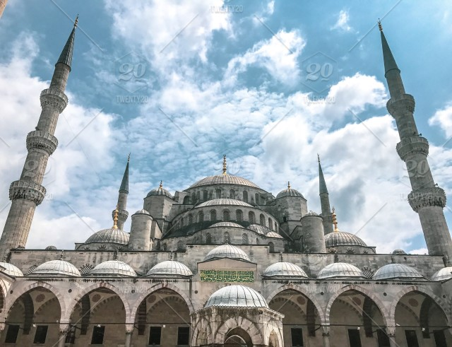 The blue mosque of istanbul Nominated by Carlo ❤️ stock