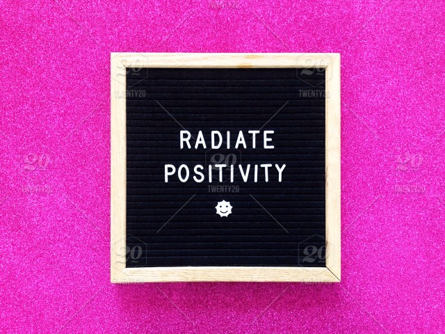 Radiate Positivity Letter Board Message Board Inspiration
