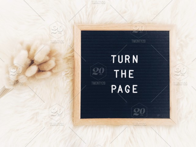 Turn the page. Move on. Moving on. The next chapter is blank ...
