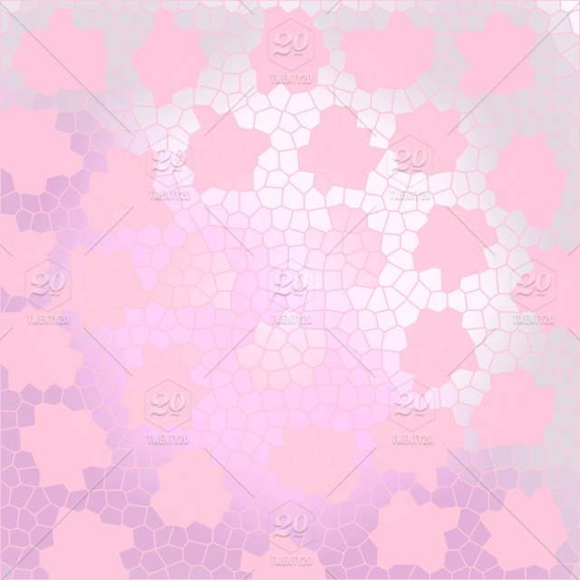 Abstract Stained Glass Mosaic Background Bright Pink And