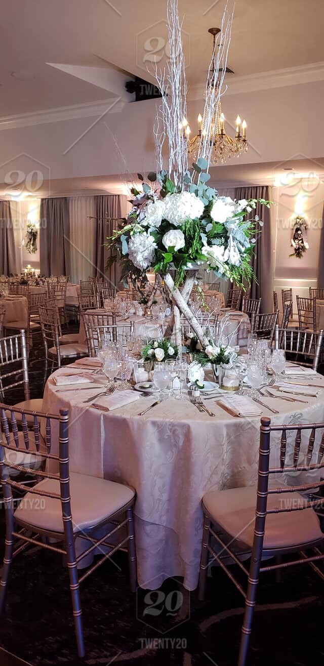 Custom Centerpieces Nature Weddings Nj Winter Rustic
