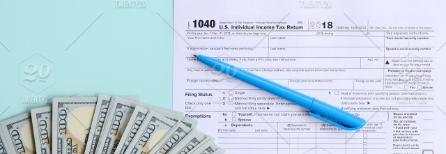 Tax, form, pen, income, return, refund, business, individual