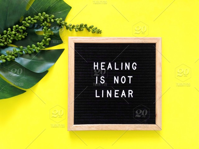 Healing Is Not Linear Ups And Downs Of Life Life Philosophy Life
