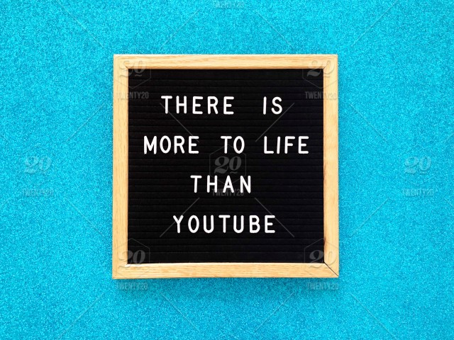 There is more to life than Youtube  Addicted  Addiction