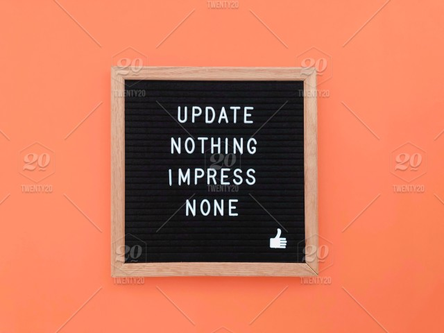 Update nothing. Impress none. Quote. Quotes. Saying. Sayings ...