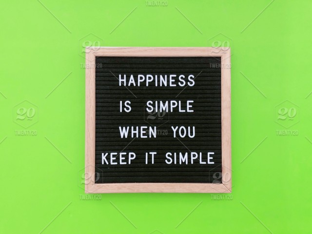 happiness is simple when you keep it simple gary vee quote life