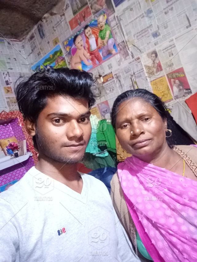 Indian mom and son