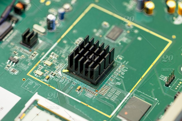 Circuit Board For Background Technology Communication Lines Board Background Electronic Digital Circuit Abstract Background Board Chip Circuit Computer Concept Digital Electronic Engineering Equipment Green Hardware Industry Line Micro