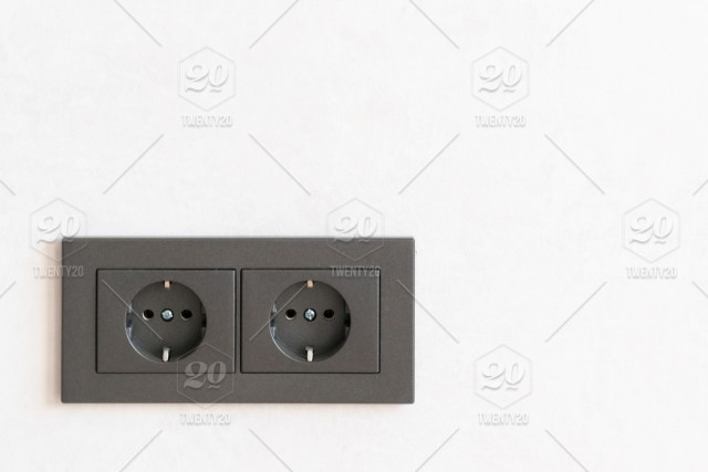Wall Socket Installation A Screw On An Electrical Outlet Wall Construction Cable Power Wiring Electrical Switch Socket Professional Connection House Repair Installation Remodeling New Construction Newly Built Home Improvement Repair