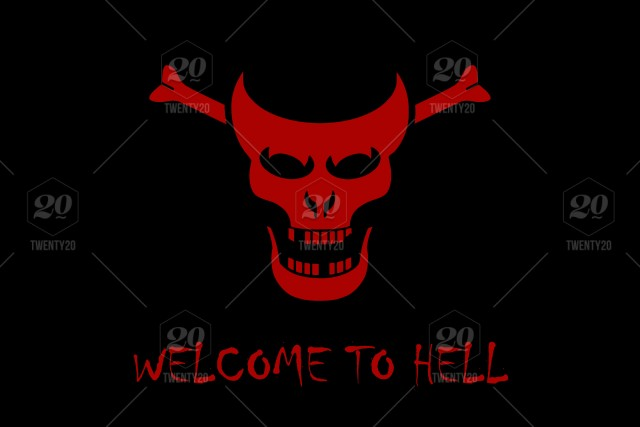 skull demon halloween bones black red illustration text phrase awesome abstract horror hell scary fear welcome devil evil dark satan death design head face smile symbol sign logo letters word written blood skull demon halloween bones black