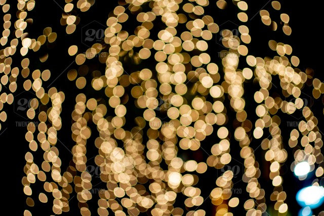 Light Night City Bokeh Abstract Background Glittering Stars On Bokeh Orange Bokeh In The Bottom Of The Picture Has A Black Background Image Light Night Bokeh City Blur Blue Abstract Focus Background