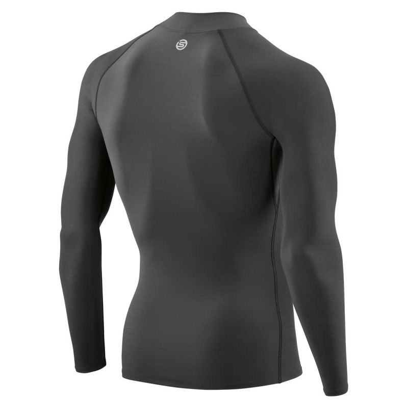 Skins | | Herren | Dnamic Force Thermal-long Sleeve | | Laufshirts 748fc3