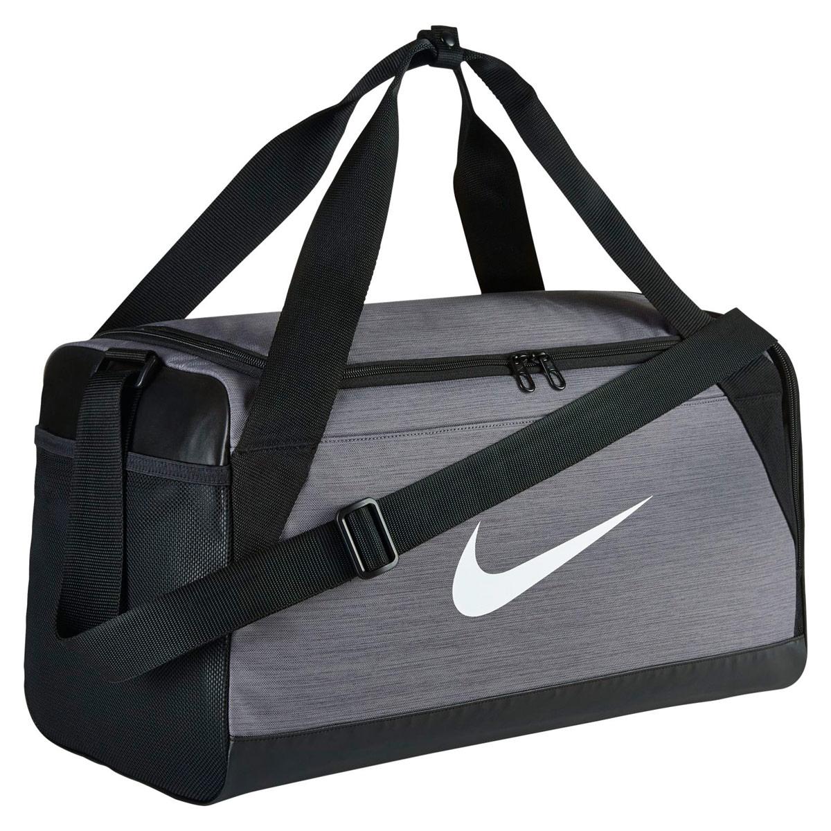 Nike Brasilia Small Training Duffel Bag - Sports bags for Men - Grey ... 4811f42e3e0f0