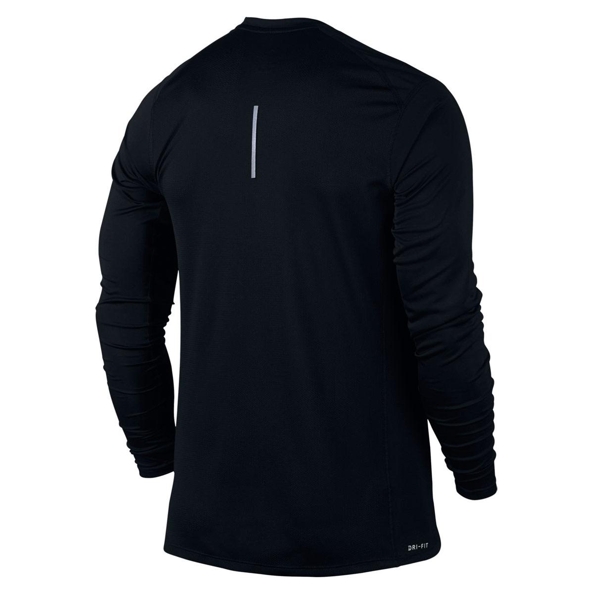464d7a09 Nike Dry Miler Longsleeve - Running tops for Men - Black | 21RUN