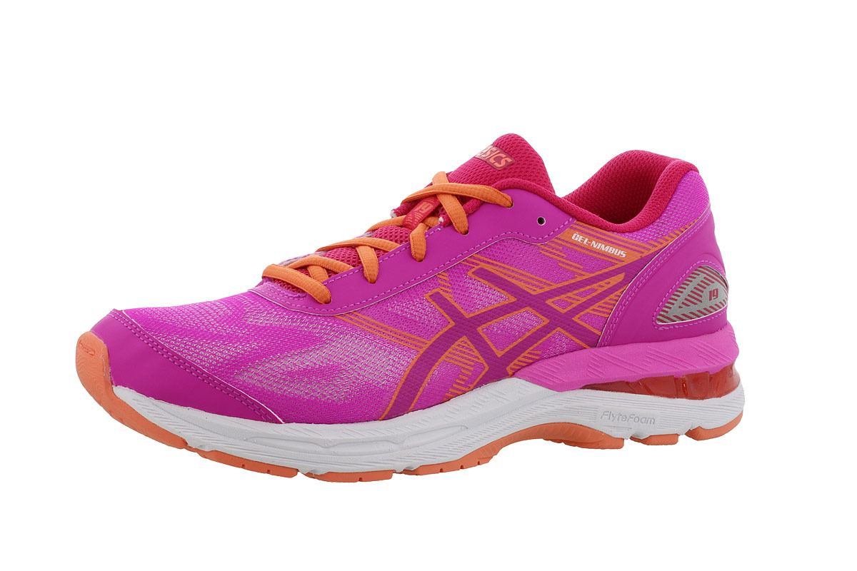 new product 59a67 39fd4 ASICS GEL-Nimbus 19 GS - Running shoes - Pink