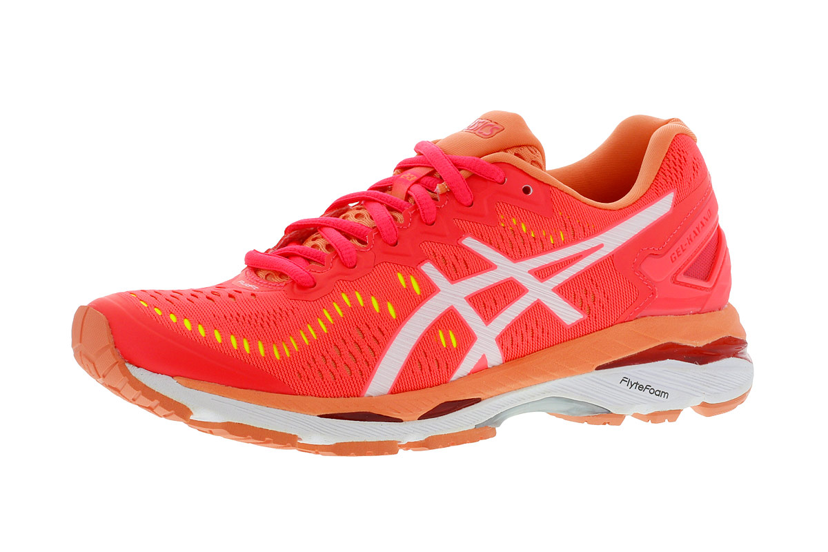 Pour Gel Rouge Asics Femme Running Chaussures Kayano 23 8X0PnwkO