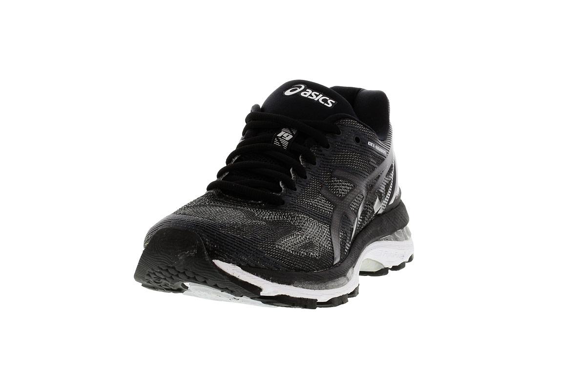 Nimbus Negro Running Mujer Asics Gel 19 Zapatillas De Para ikXuOPZ