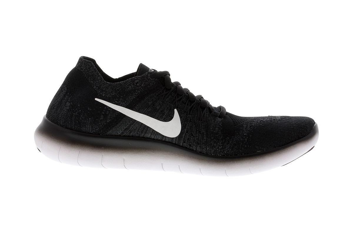 Nike Free RN Flyknit - Laufschuhe für Damen - Schwarz