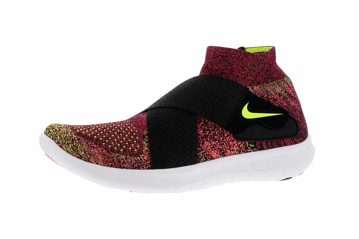 Nike Free RN Motion Flyknit 2017 - Laufschuhe für Damen - Pink