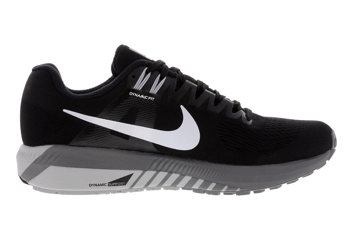 Air 21 Zoom Schwarz Damen Laufschuhe Structure Nike Für reoQdxBWC