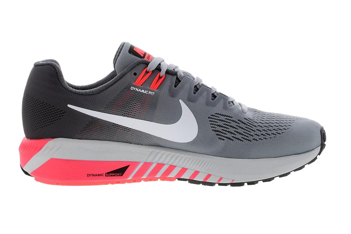 Nike Air Zoom Structure 21 - Laufschuhe für Damen - Grau