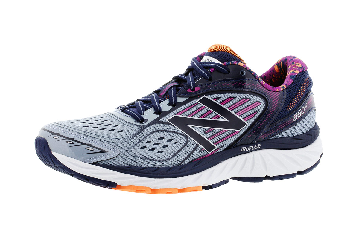 bright in luster excellent quality retro New Balance W 860 V7 - Running shoes for Women - Blue