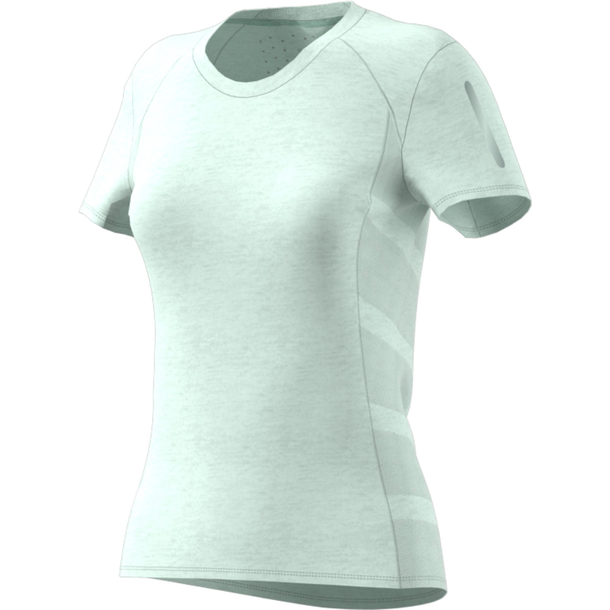 buy popular b40d0 7ccd2 adidas Supernova 37C Short Sleeve Tee - Maillot de course pour Femme -  Blanc  21RUN