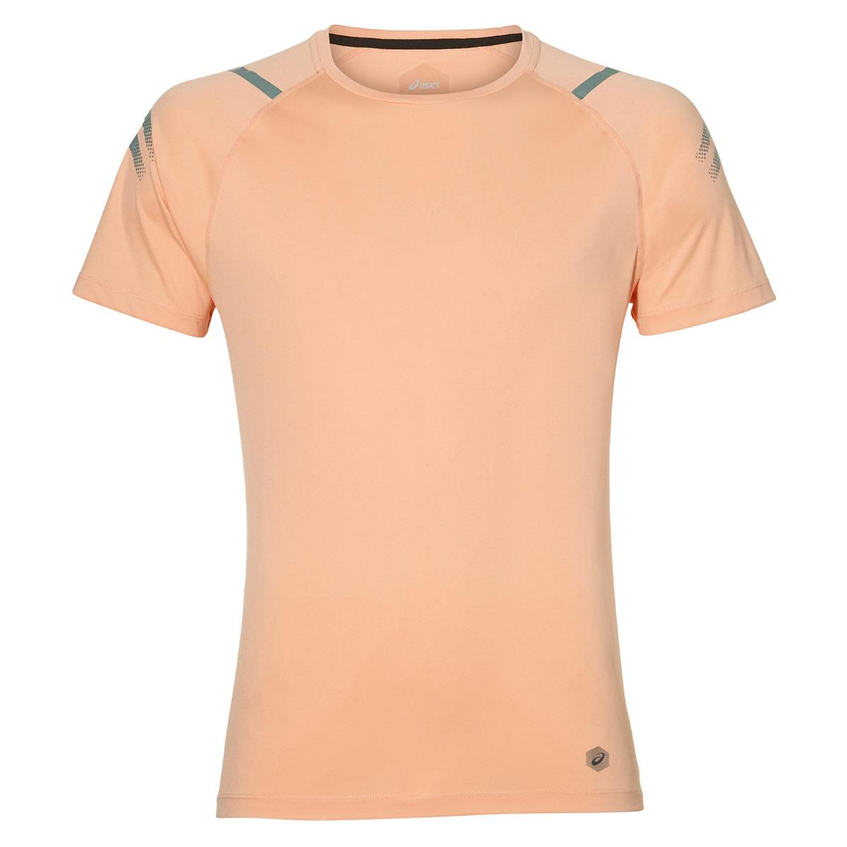 Tops Icon Pink Top Running Asics For Men ulJFKcT13