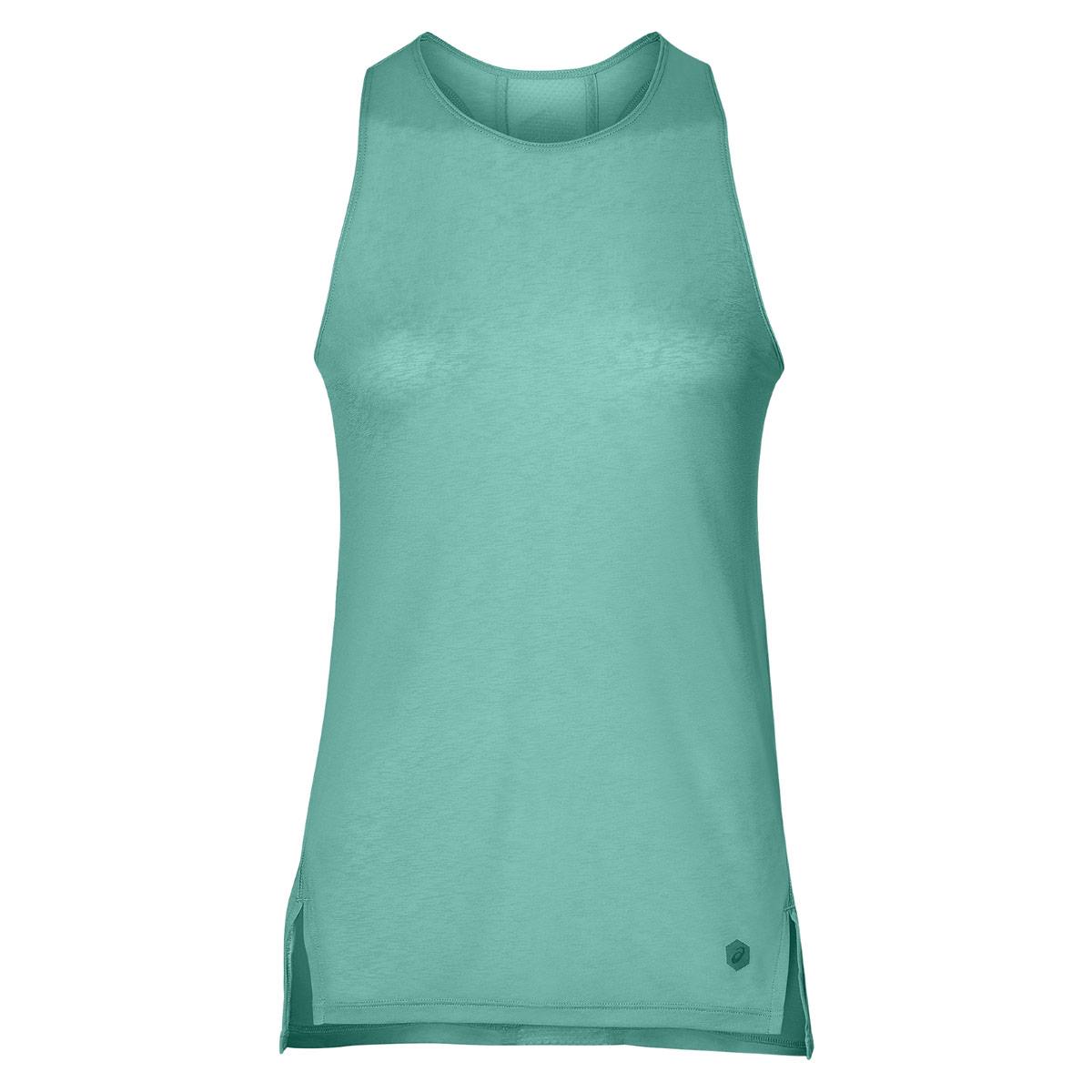 9dc7b9702 ASICS Cool Tank - Camisetas de running para Mujer - Verde