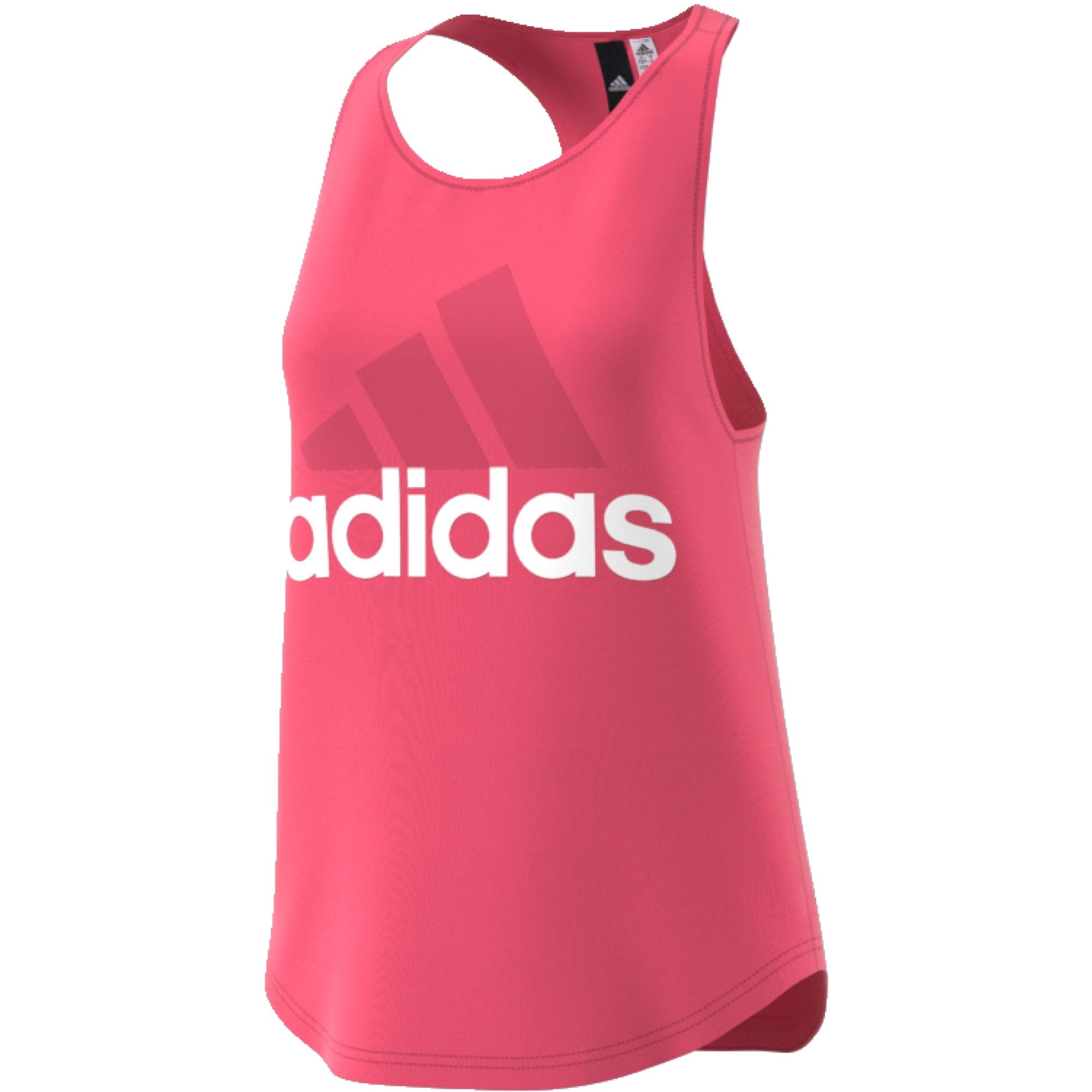 adidas Essentials Linear Loose Tank - Running tops for Women - Pink ... e1cad55a0