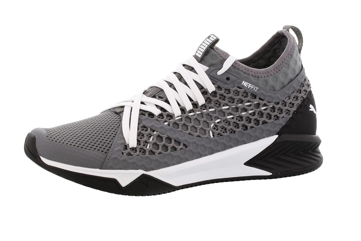 d7200403 Puma IGNITE XT NETFIT - Running shoes for Men - Grey | 21RUN