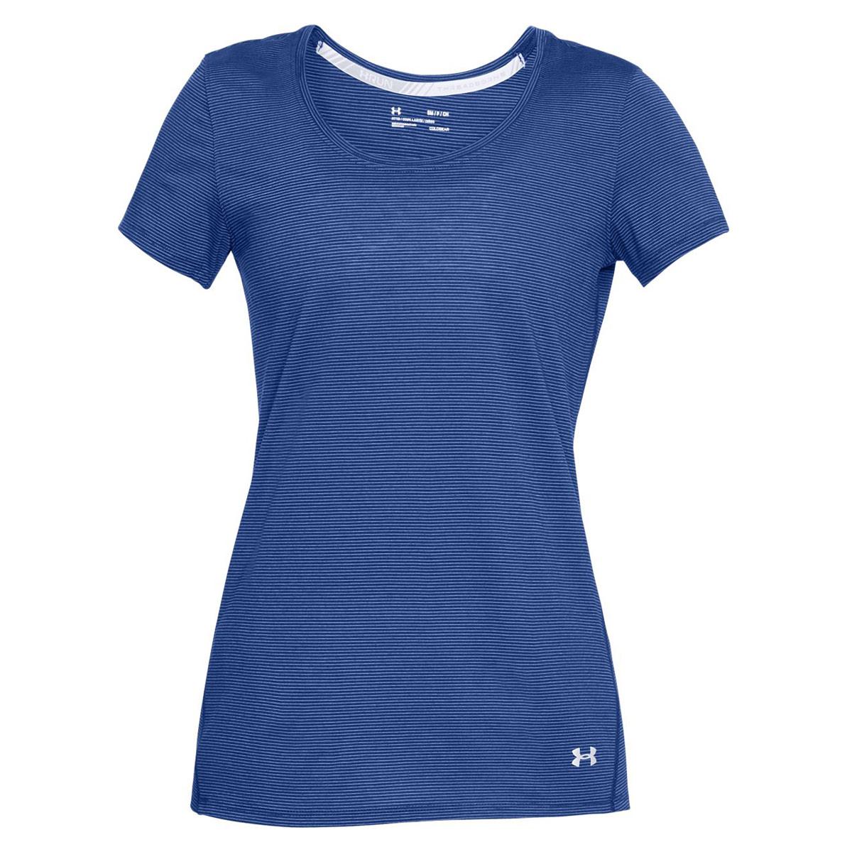 Under Armour Threadborne Streaker Short Sleeve Tee - Running tops for Women  - Blue   21RUN 9ba8746d1d