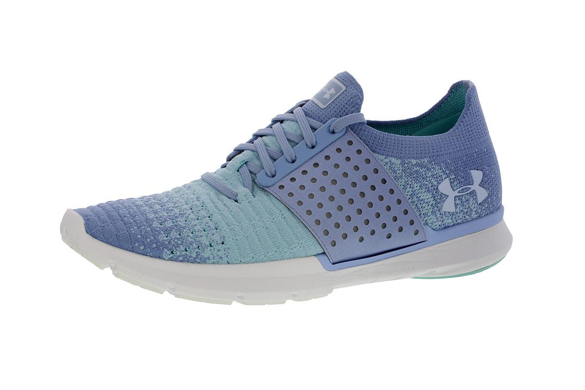 Under Armour Speedform Slingwrap Fade - Running shoes for Women - Blue  5efbea3130