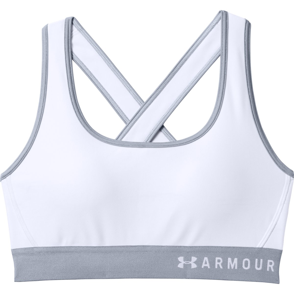 37a84cfe157 Under Armour Armour Mid Crossback - Sport Bras for Women - White