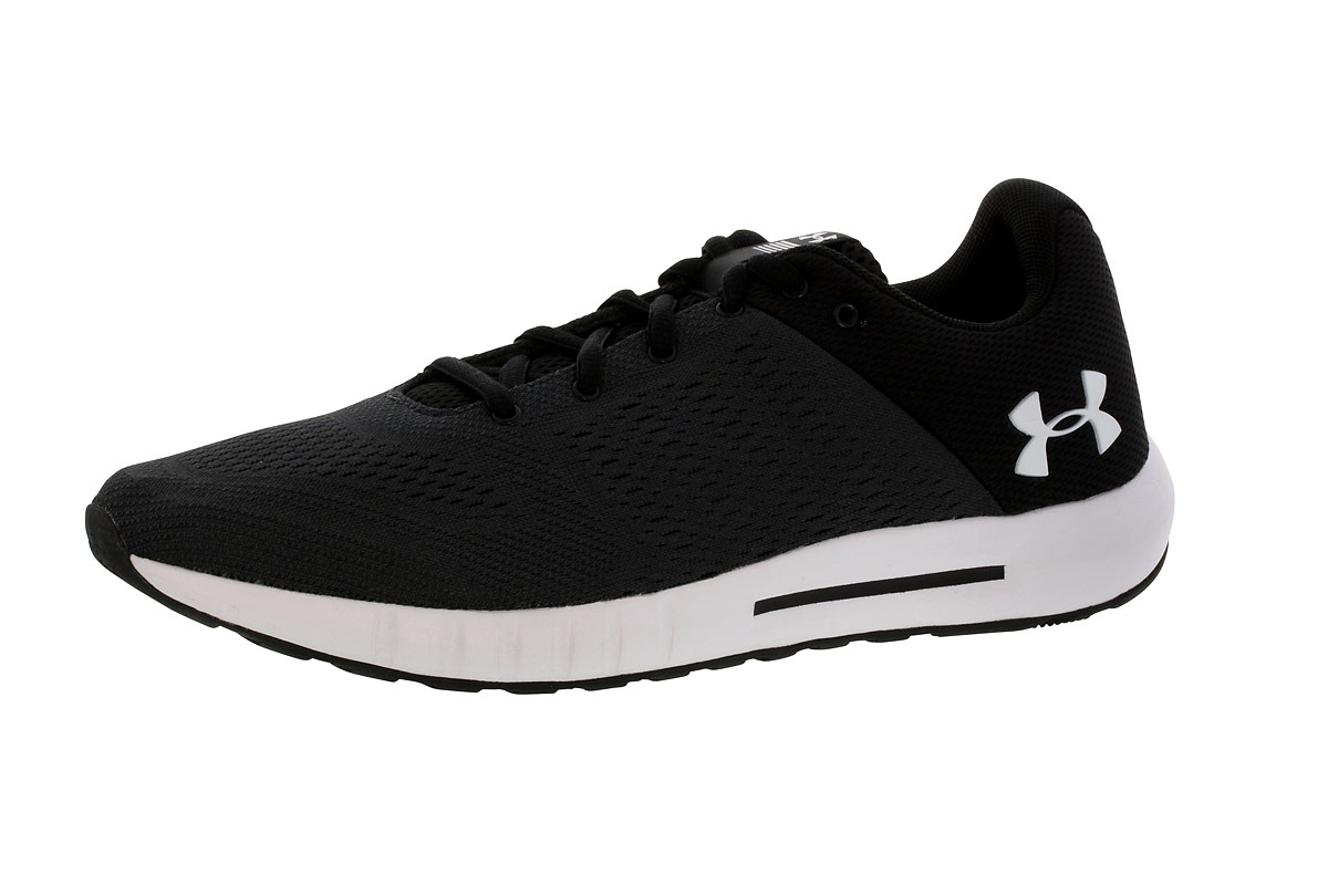 Under Armour Micro G Pursuit - Running shoes for Men - Black  5c4c6eb750