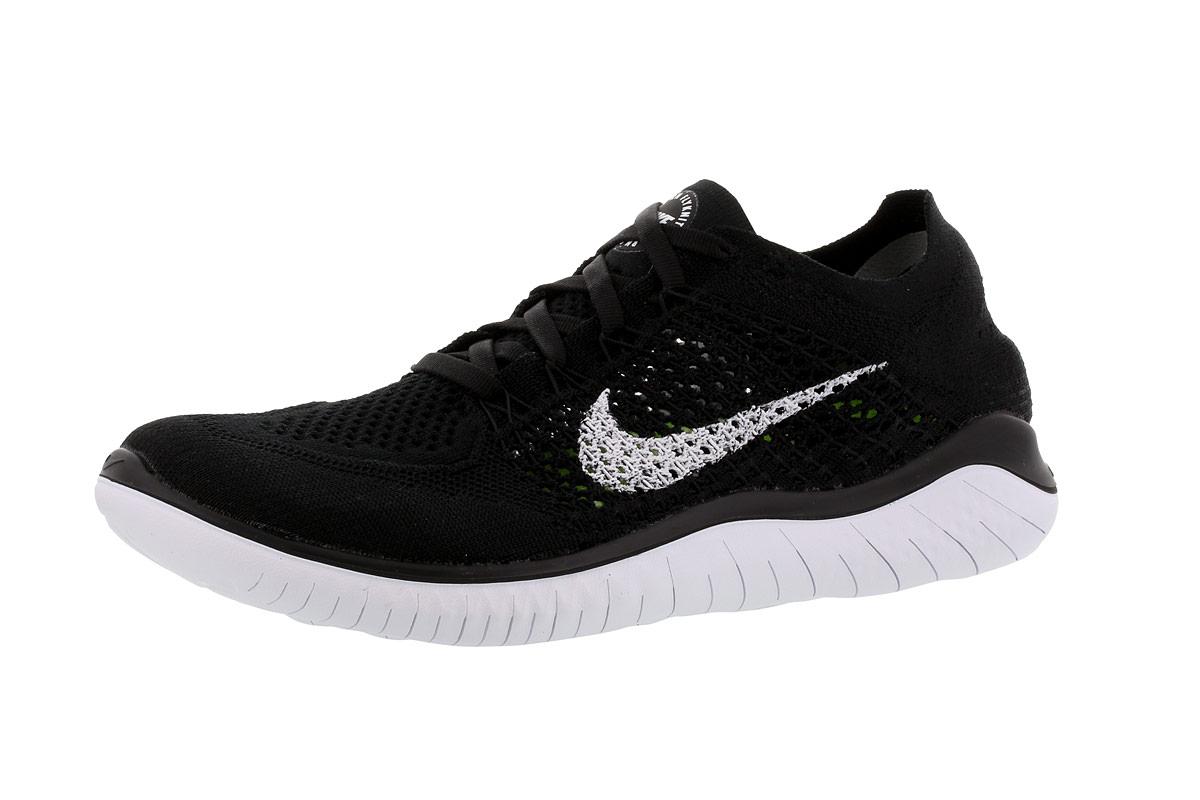 Nike Free RN Flyknit 2018 - Laufschuhe für Damen - Schwarz | 21RUN