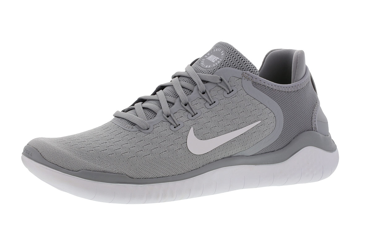 Nike FREE RN 2018 Chaussures running pour Homme Gris