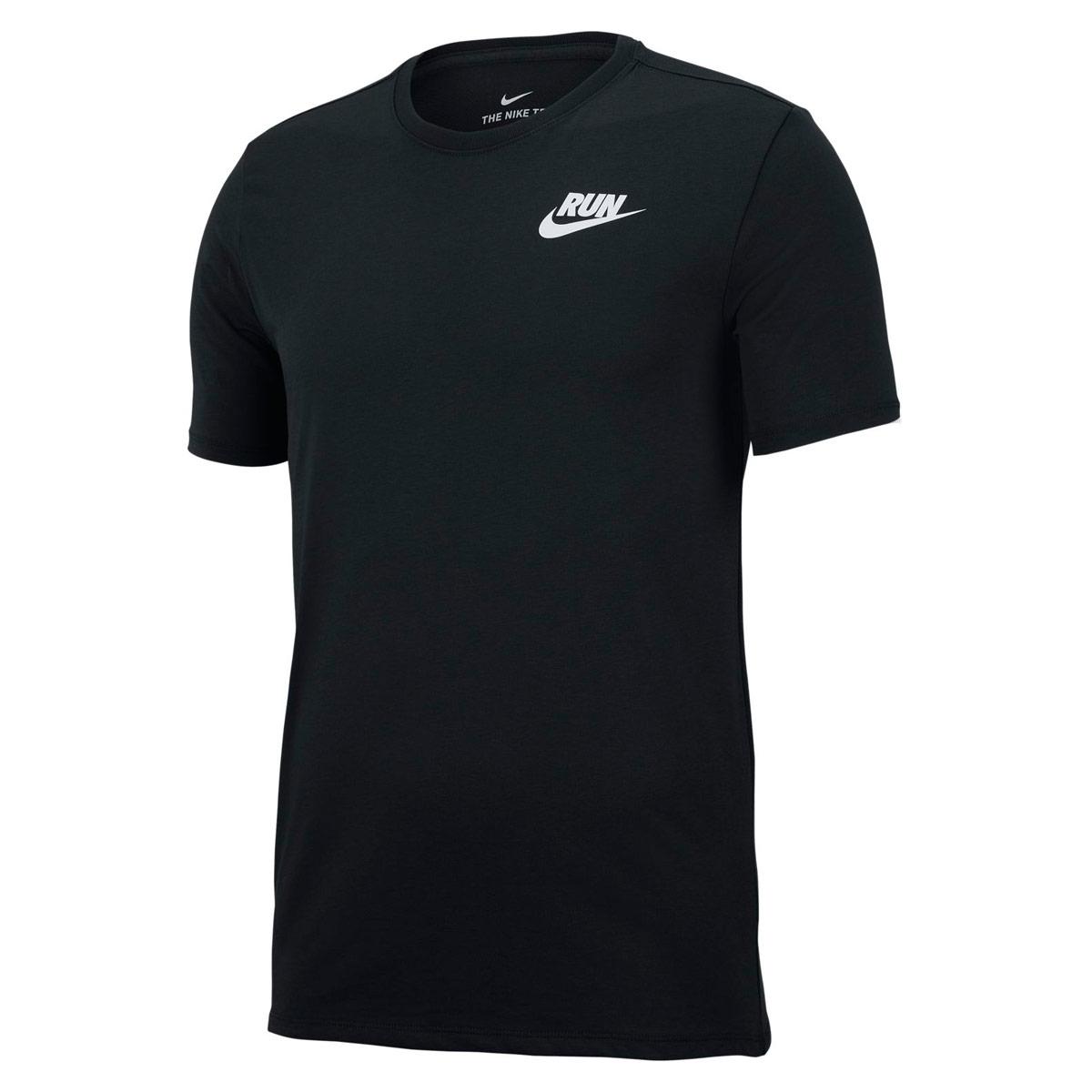 cc89c22597cd Nike Dry Running T-Shirt - Running tops for Men - Black