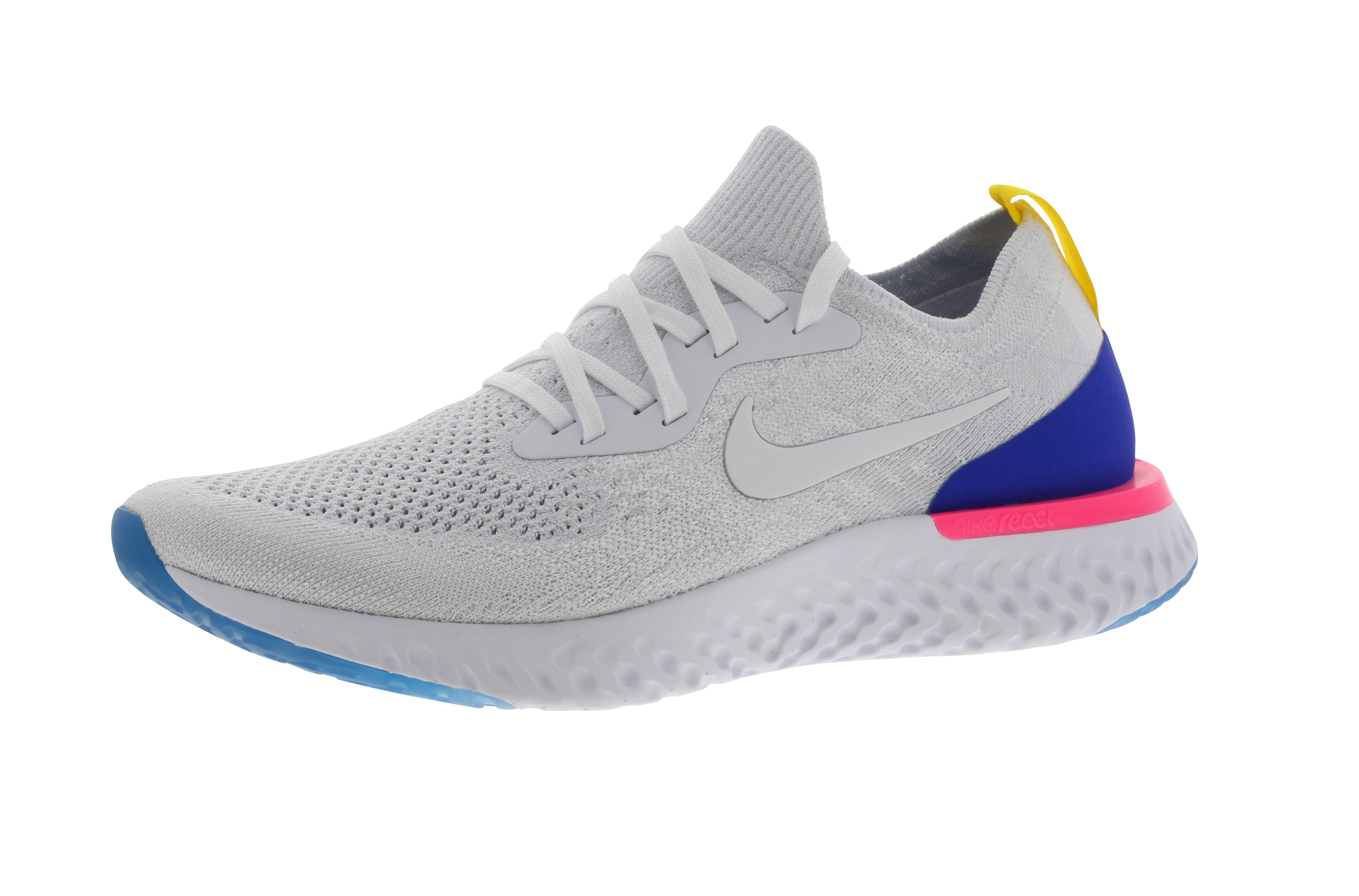 Nike Epic React Flyknit - Laufschuhe für Damen - Weiß