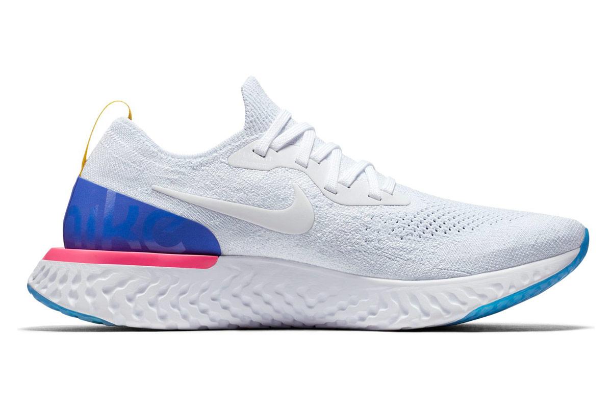 Nike Epic React Flyknit - Laufschuhe für Herren - Weiß