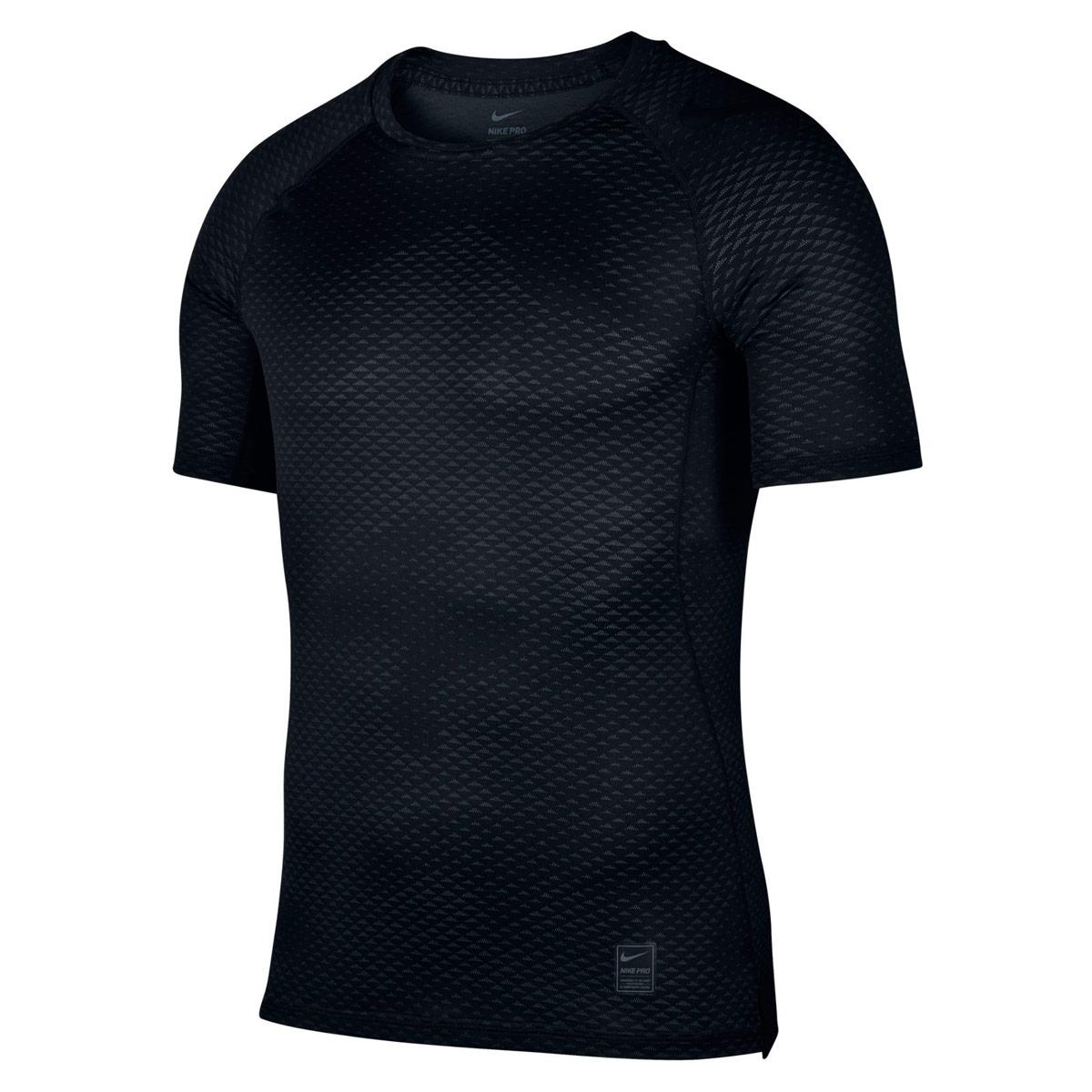 Nike Pro HyperCool Top - Fitnessshirts für Herren - Schwarz