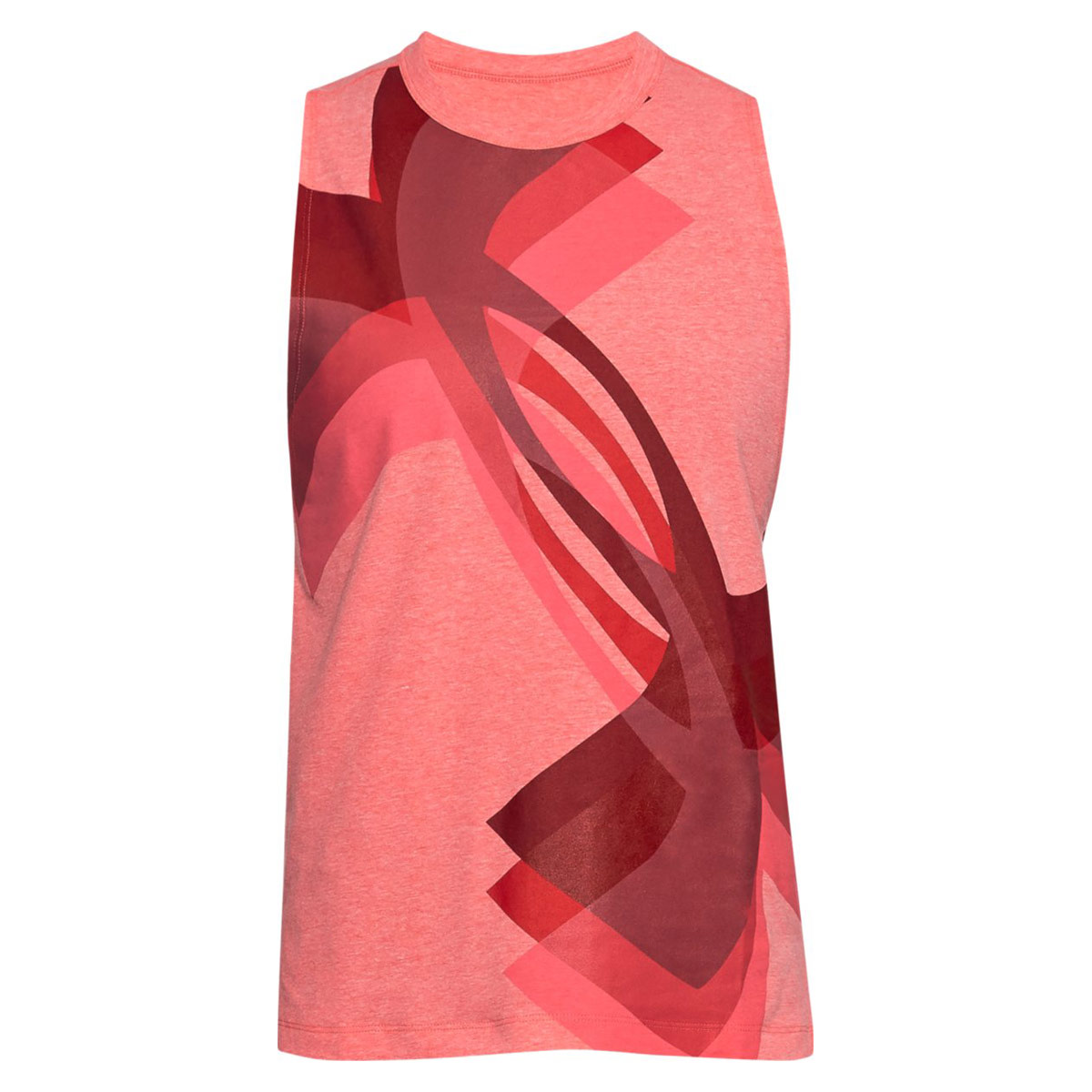 55ea8faa Under Armour Muscle Tank Overlay Logo - Running tops for Women - Pink |  21RUN