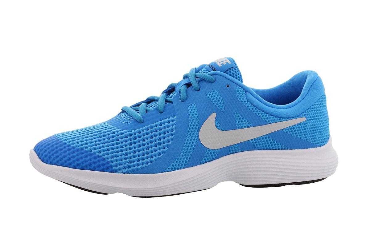 Nike Revolution 4 (GS) Laufschuhe für Jungs Blau