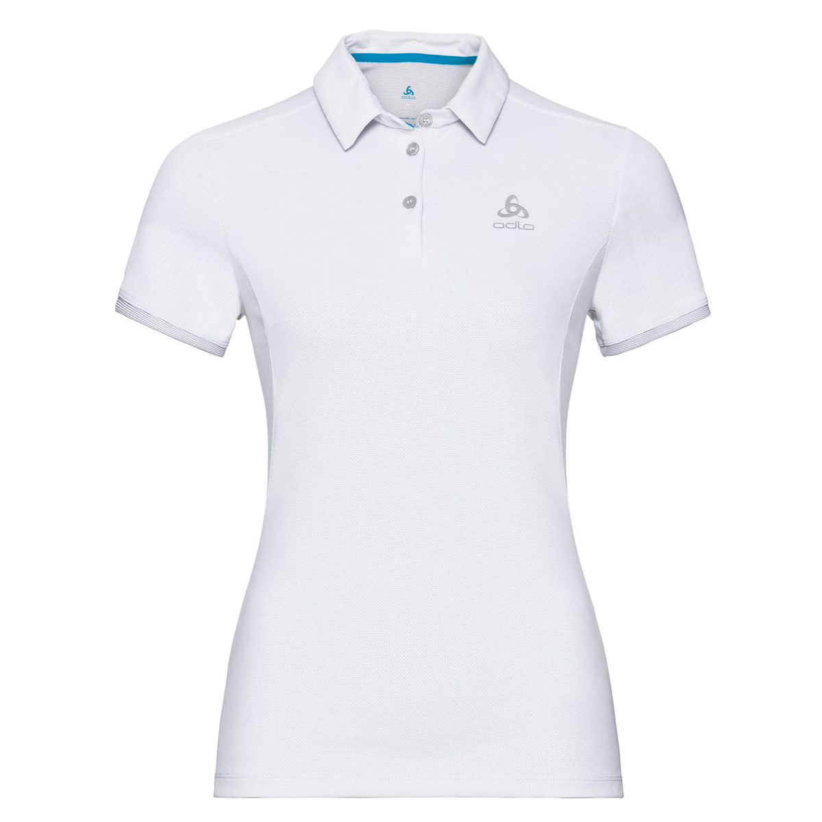 688ed8a15724f6 Odlo Polo Short Sleeve Kumano F-Dry Light - Freizeitbekleidung für Damen -  Weiß