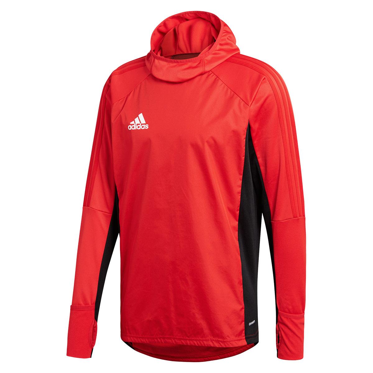 Adidas Warm Pour 17 Sweats Pulls Tiro Homme Rouge Shirt odCxerB