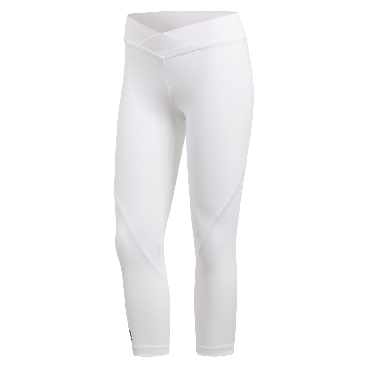 91cfc52aca6a3 adidas Alphaskin Tech 3/4-tight - Fitness trousers for Women - White | 21RUN