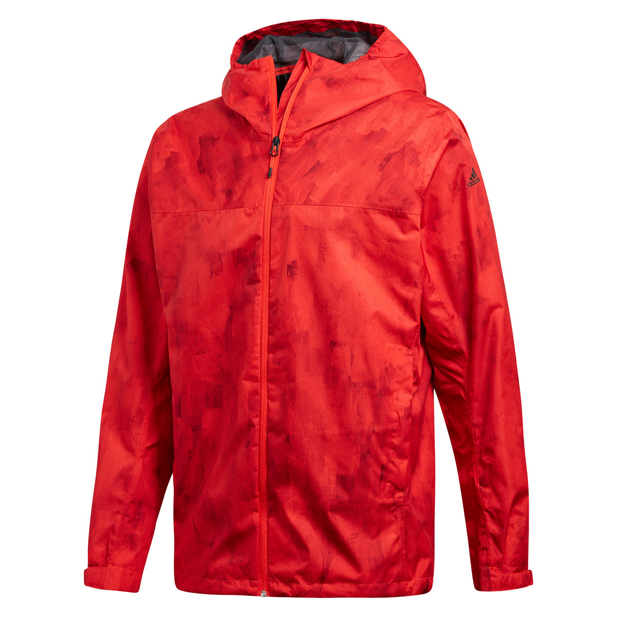 adidas Wandertag Allover Print Jacke Casual clothing for Men Red