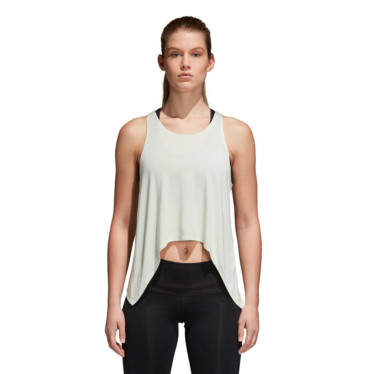 49965fa2dda365 adidas Climalite Knot Tanktop - Fitness tops for Women - Grey