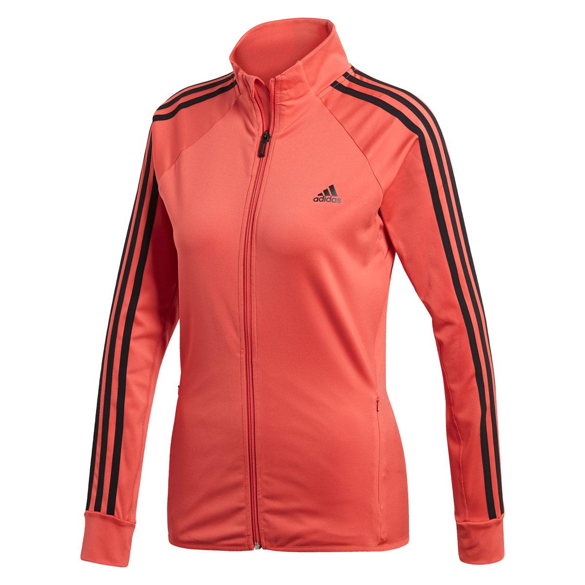 adidas D2m Track Jacke - Laufjacken für Damen - Rot